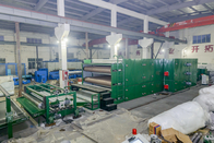 Polyester 150kg One Hour Wadding Production Line With Memory Function