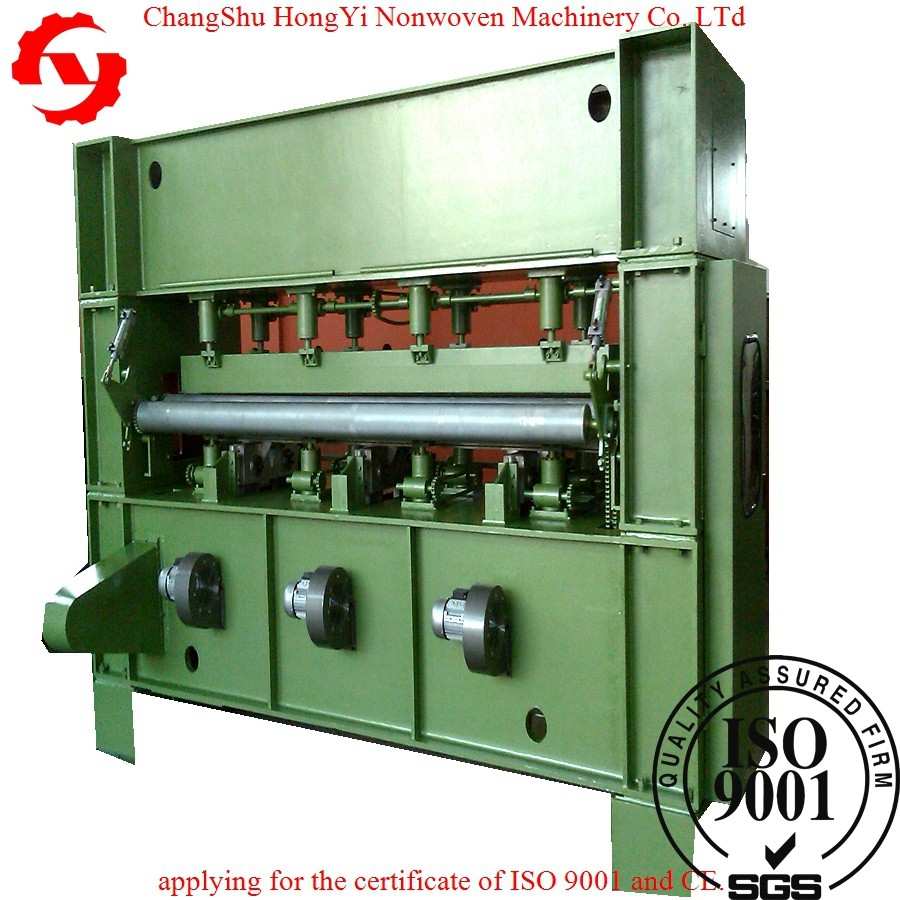 PP / PET Needle Punched Fabric Making Machine 5.5m Middle Speed