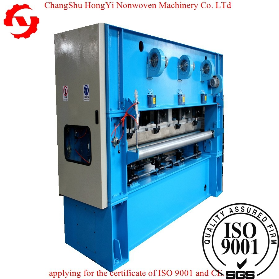 Custom Hight Speed Non Woven Carpet Making Machinery 35-70mm Strok