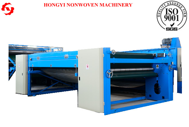 High Speed Cross Lapping Machine For PU Leather Making 3500mm Width