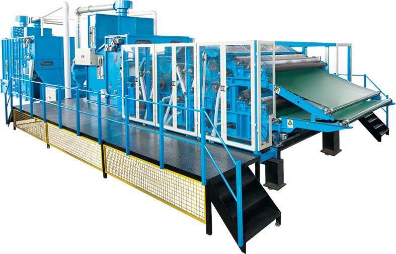 Single Layer Nonwoven Thermobonding Oven For Soft Waddings Without Glue